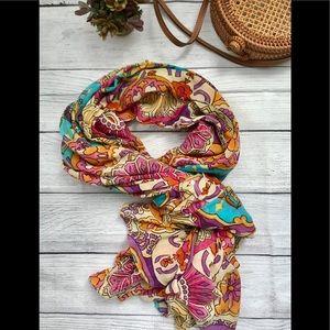 Oversized Boho scarf